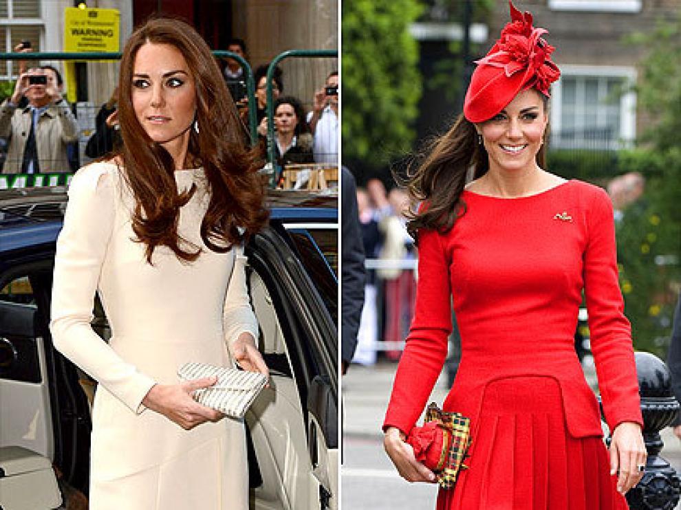 Kate Middleton, la segunda mejor vestida