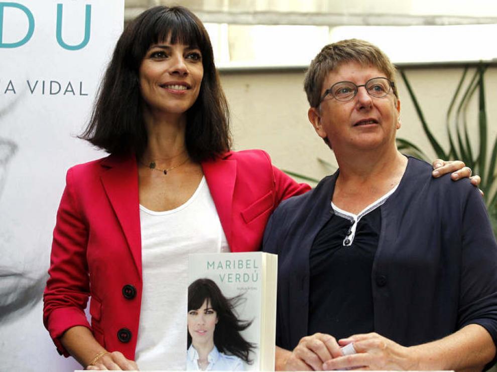 Presentación de la biografía de la actriz, escrita por Nuria Vidal