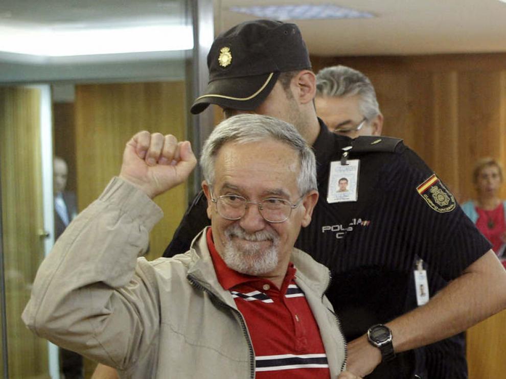 Manuel Pérez Martínez, el 'Camarada Arenas' en el juicio