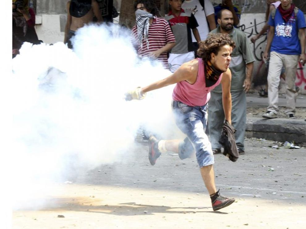 Protestas en El Cairo, Egipto