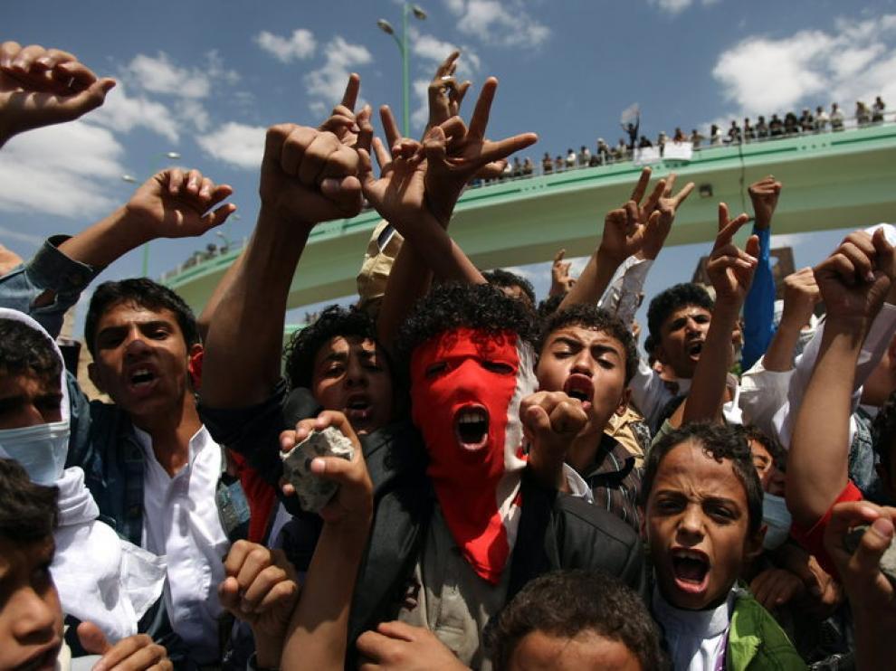 Disturbios en Yemen y Egipto