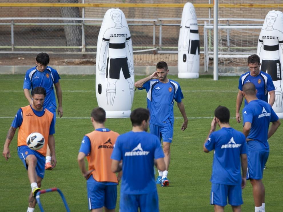 Sesión de entrenamiento en la Ciudad Deportiva