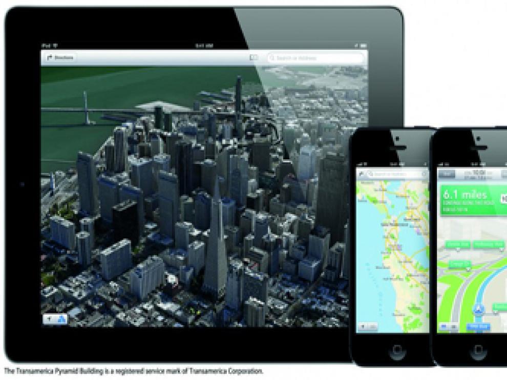 El nuevo iOS 6 incluirá Apple Maps y la tecnología de control de voz Siri.