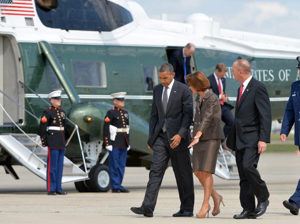 Obama ha acudido la repatriación de los fallecidos en la embajada estadounidense en Libia.
