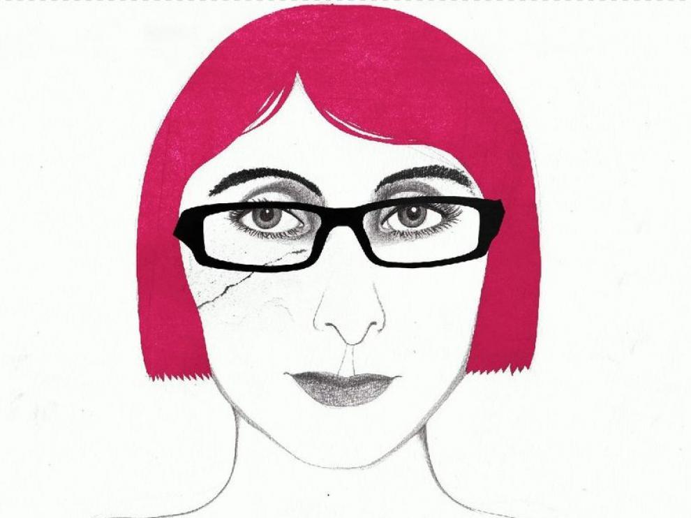 Un retrato de Patricia Esteban, hecho por la ilustradora Sara Morante.