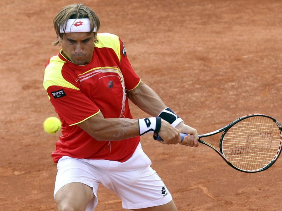 Ferrer vence en el primer partido de la semifinal de la Copa Davis