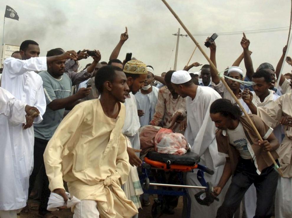 Disturbios en Sudán