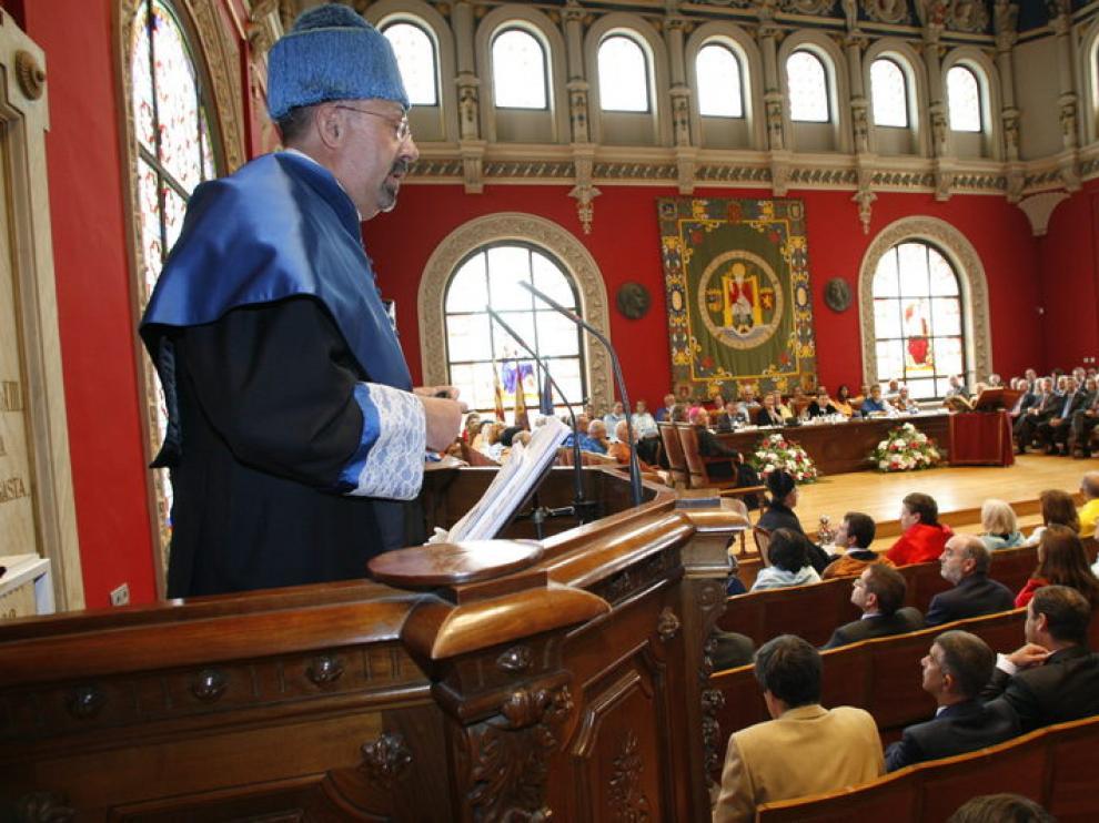 Acto oficial de apertura del curso 2012-2013