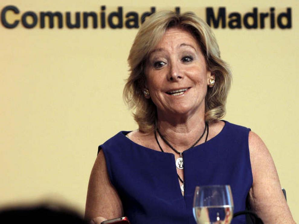 Foto de archivo de la expresidenta madrileña Esperanza Aguirre.