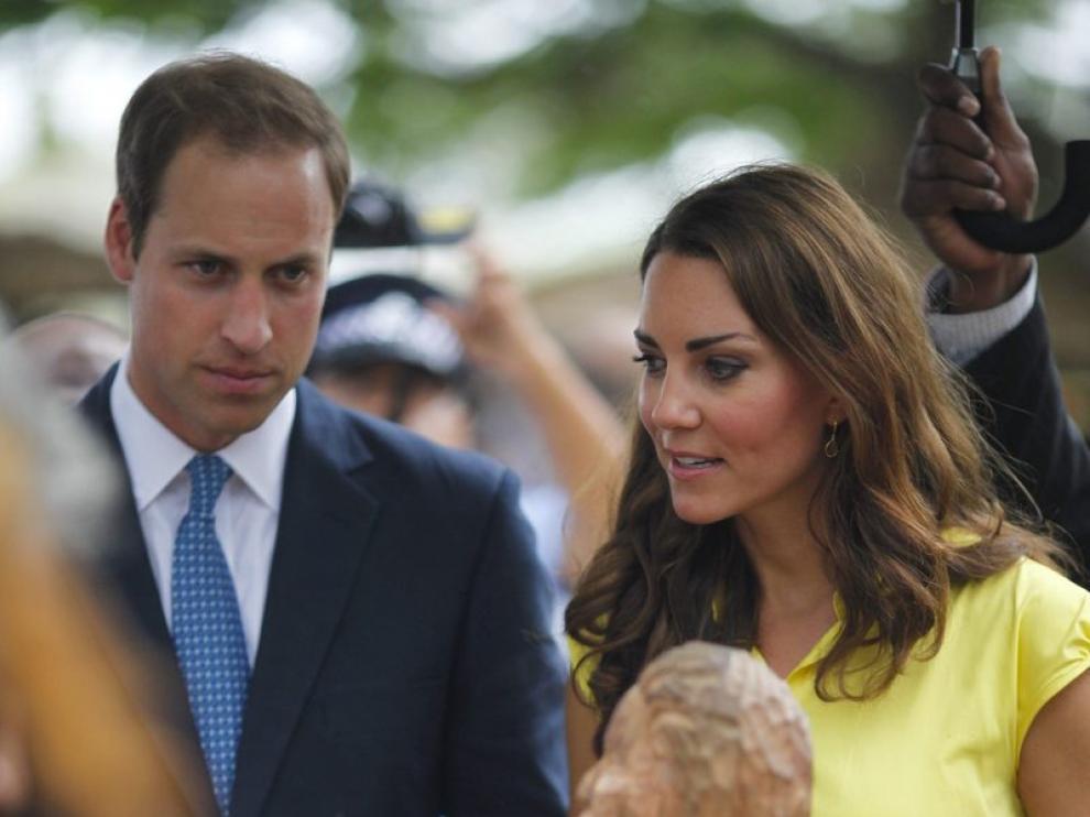 Los Duques de Cambridge visitan las islas Salomón