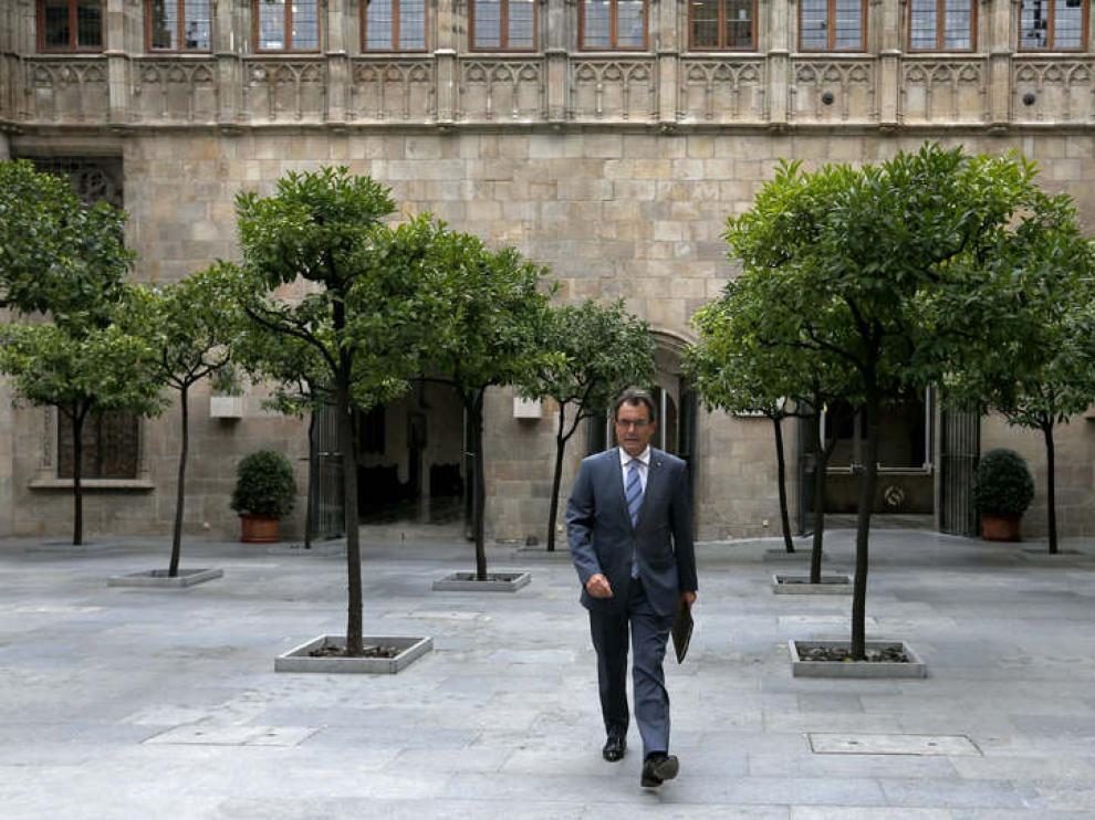 Artur Mas se entrevistará con Rajoy este miércoles en La Moncloa.