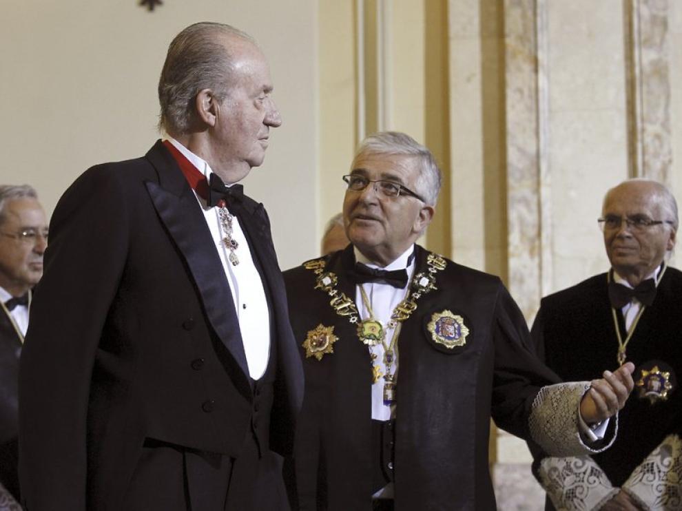 El Rey preside la apertura oficial del año judicial