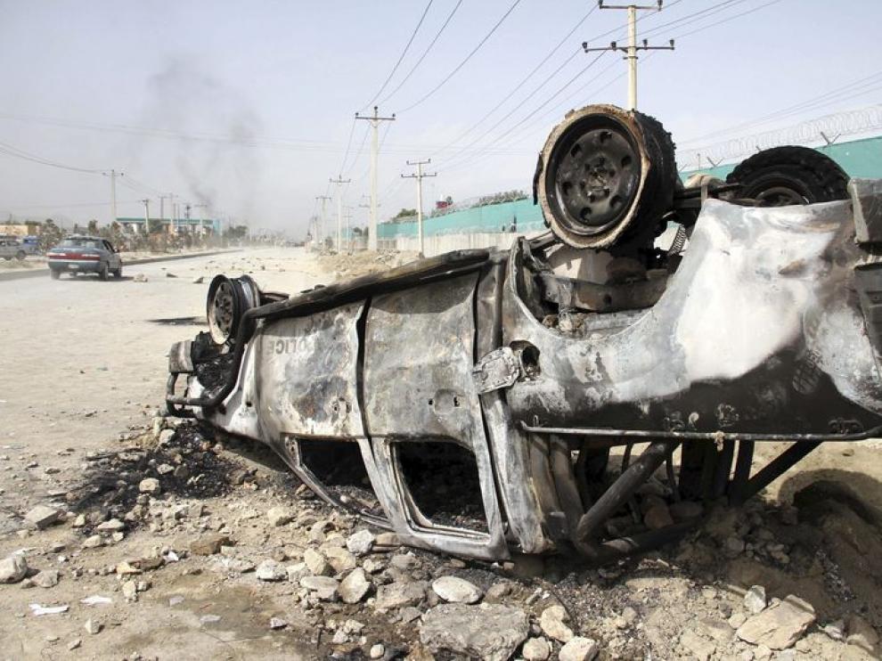 Protestas en Afganistán por el vídeo de Mahoma