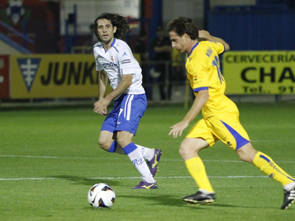 El jugador del Real Zaragoza Stefan Babovic