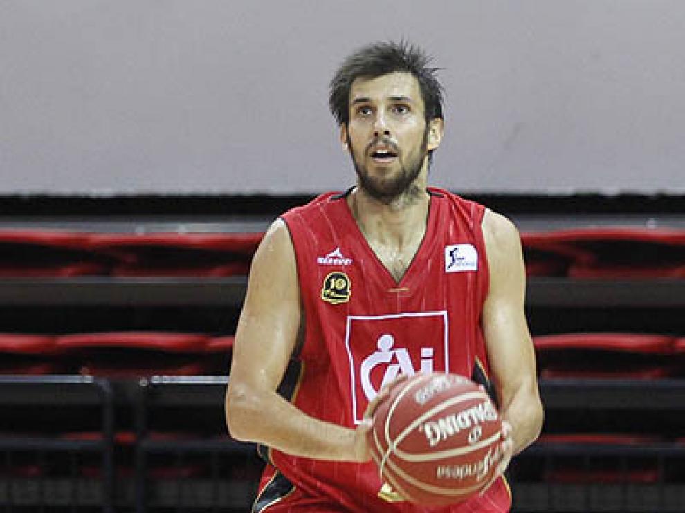 Adrián García, nuevo fichaje del CAI Zaragoza.