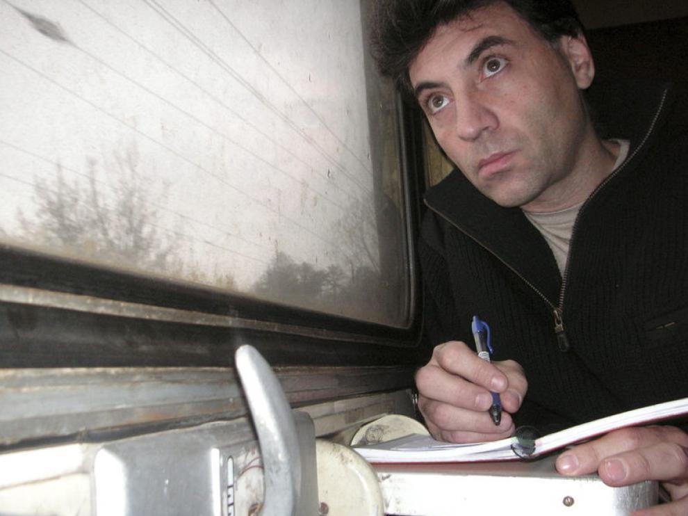 Periodista y escritor Antonio G. Iturbe