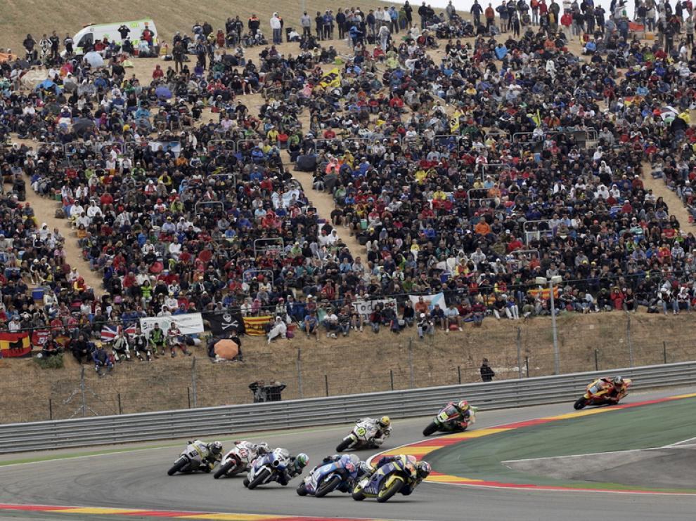 El GP de Aragón el año pasado