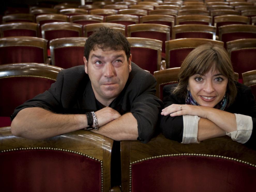 Jorge Asín y Marisol Aznar