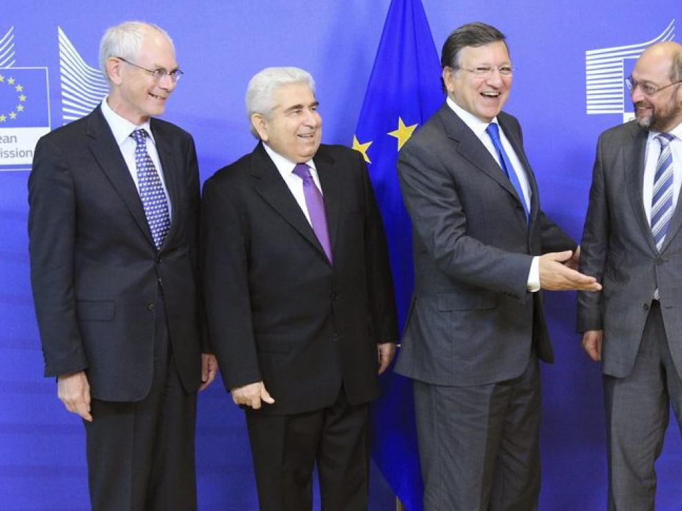 Reunión de los presidentes de la Comisión Europea