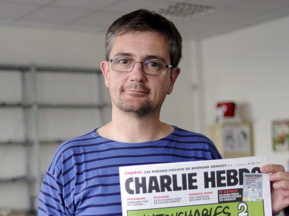 El director de publicaciones del semanario satírico francés que publica las caricaturas