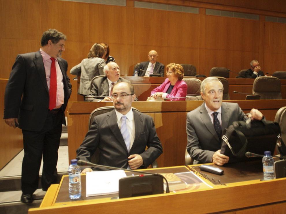 Debate sobre el estado de la Comunidad aragonesa