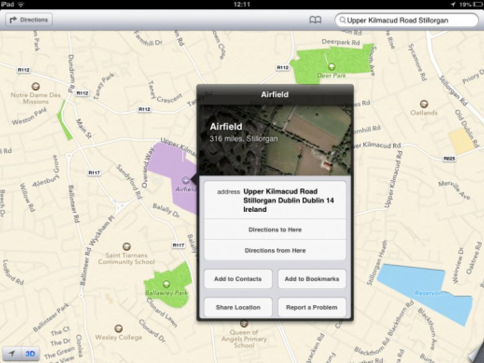 Críticas a la nueva aplicación cartográfica de Apple