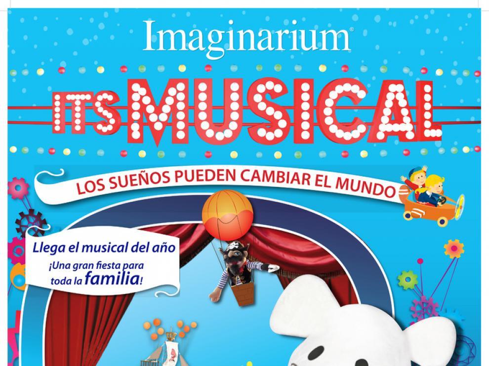Cartel del musical 'Imaginarium it's musical'