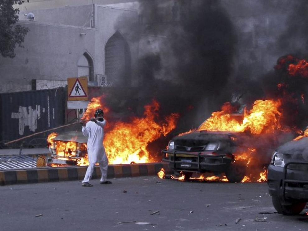 Las protestas más violentas, en Pakistán
