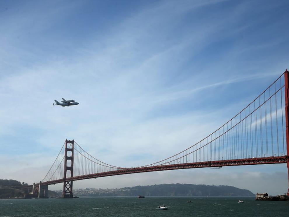 El Golden Gate está a escasos kilómetros del epicentro