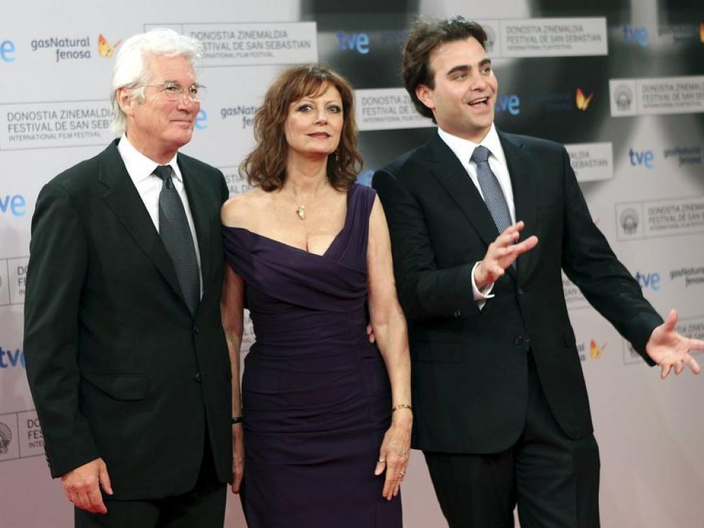 Richard Gere, Susan Sarandon y Nicholas Jareckien presentan 'El fraude'