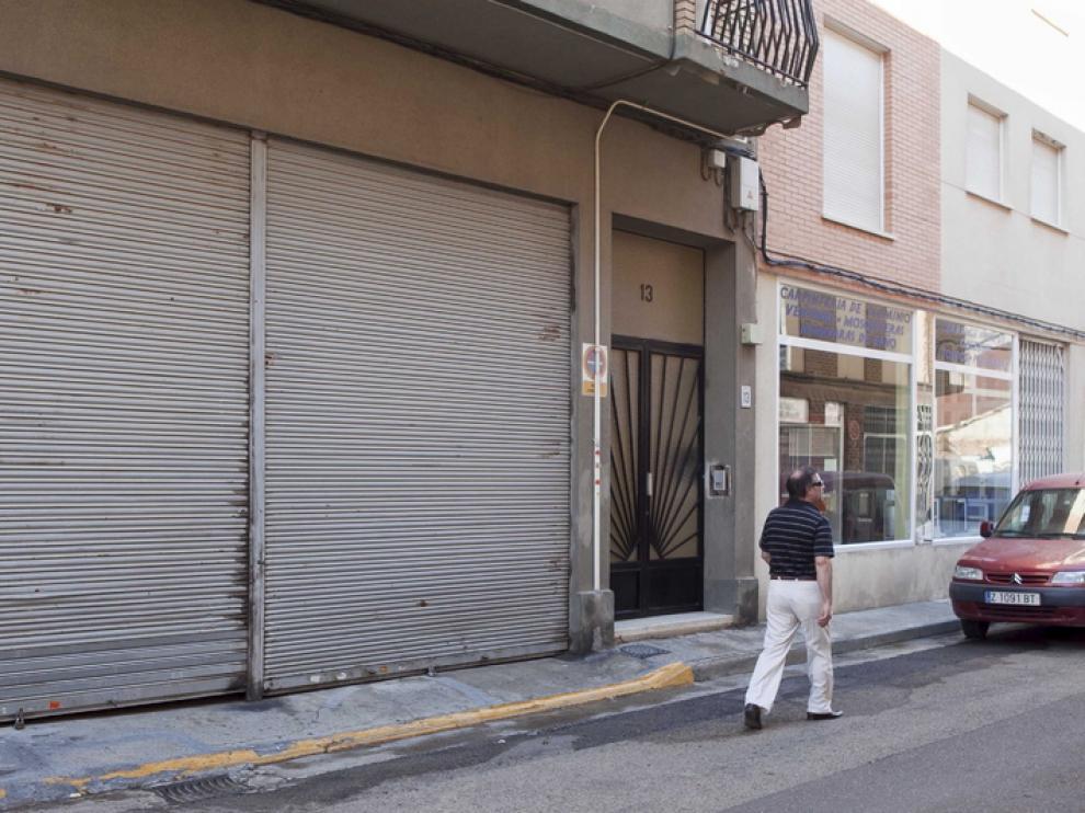 La calle en la que asesinaron a la víctima