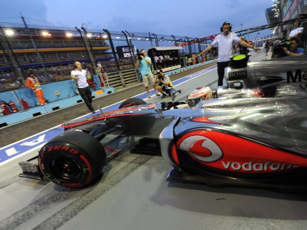 Hamilton saldrá en primer puesto