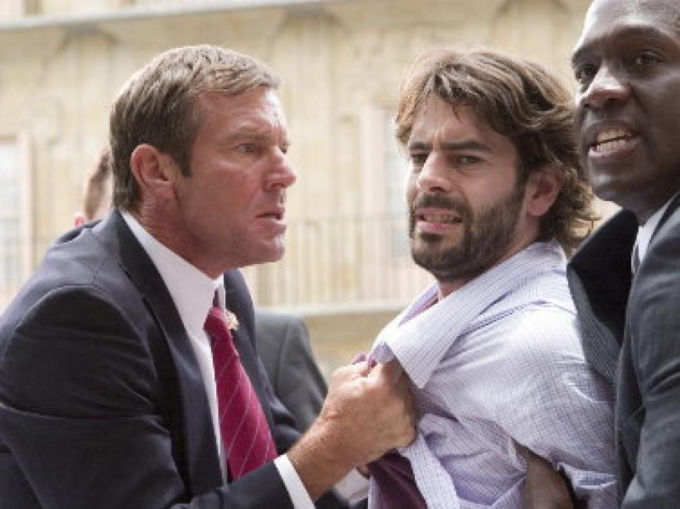 Eduardo Noriega comparte escenas con actores de la talla de Dennis Quaid.