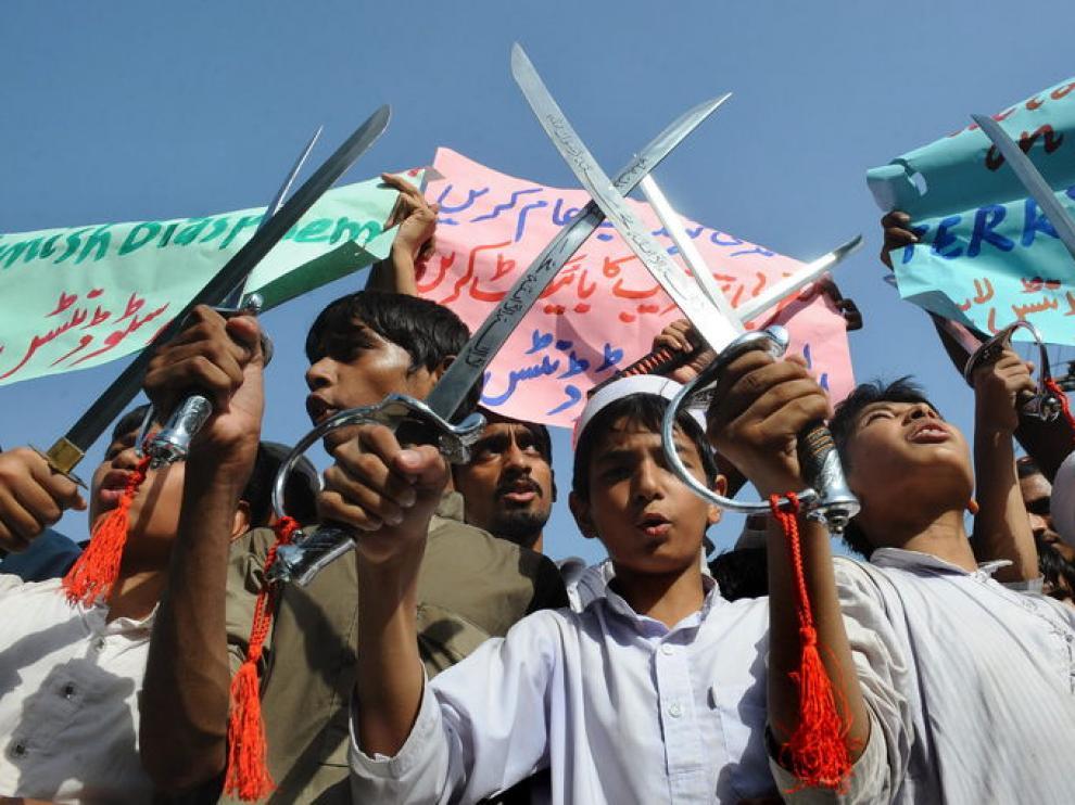 El vídeo antiislamico ha desatado una oleada de protestas en Pakistán