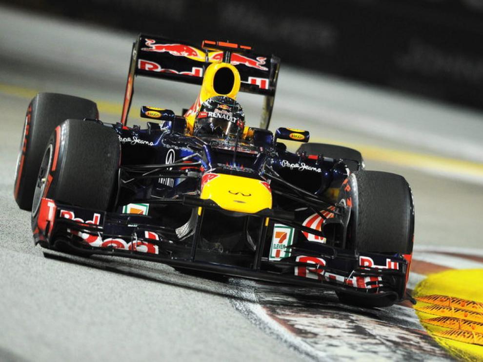 Sebastian Vettel, segundo en el mundial