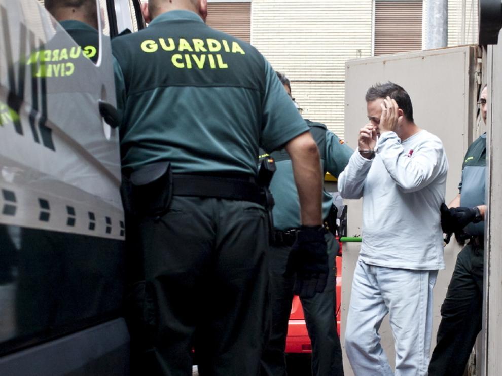 El acusado por el homicidio de Casetas
