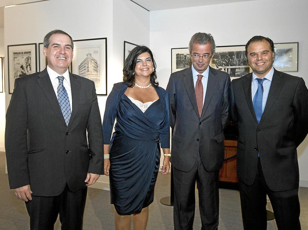 Firma del acuerdo entre Grupo Heraldo y Telefónica