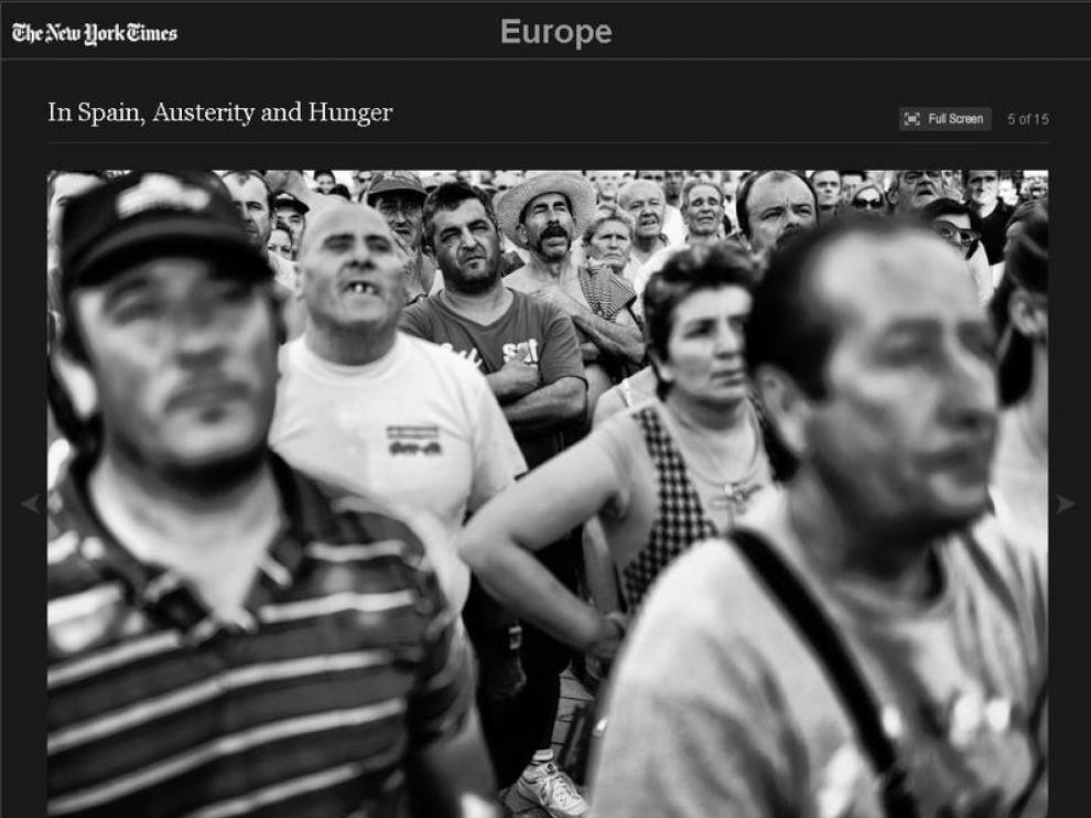 Una de las fotografías de Samuel Aranda sobre España