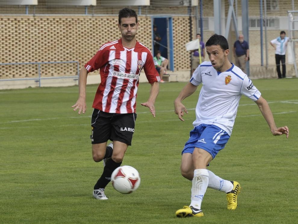 El filial zaragocista perdió frente al UD Logroñés