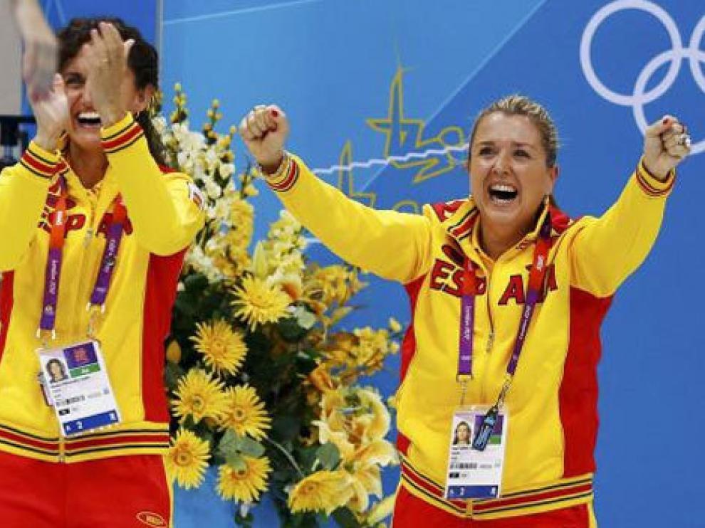 Anna Tarrés en los Juegos Olímpicos de Londres 2012