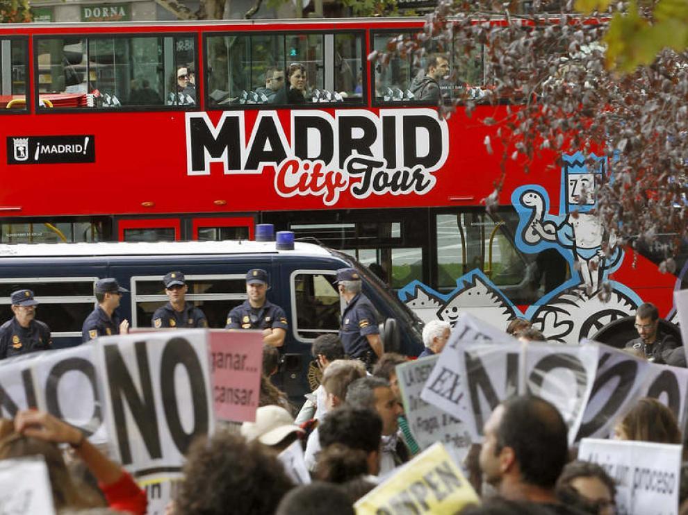 Comienzan las concentraciones en Madrid