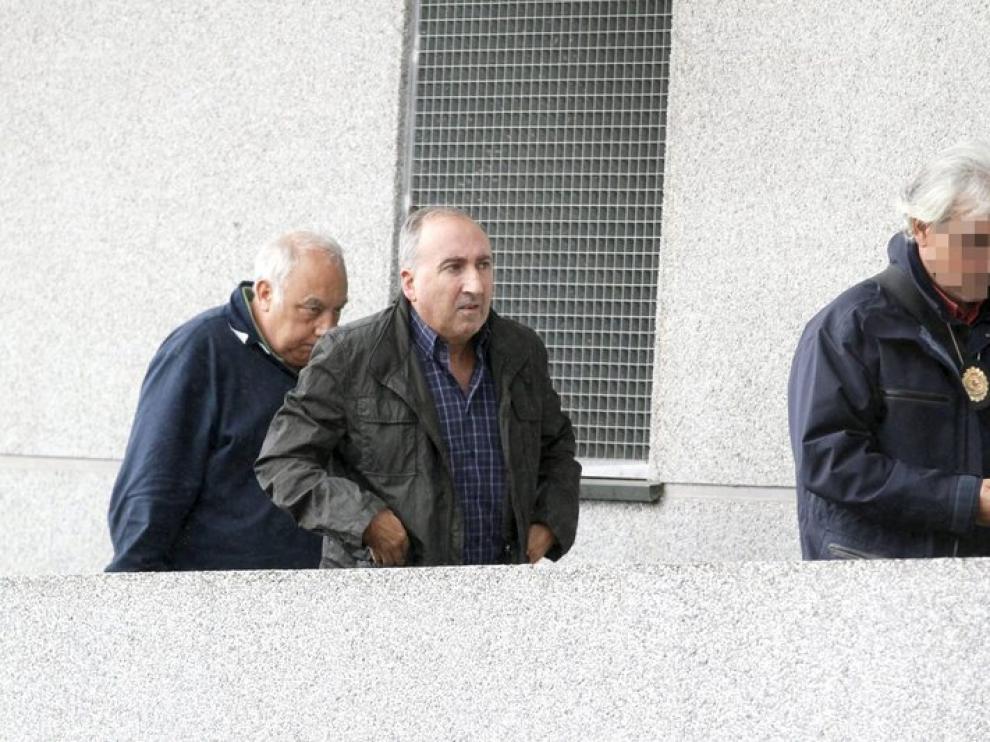 El jefe de la Policía Local de Ourense, Abelardo Ulloa, a su llegada a los juzgados.
