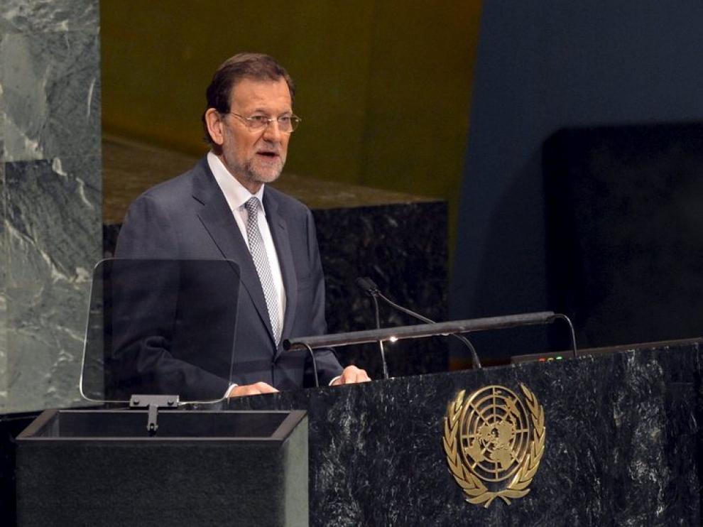 Rajoy en la Asamblea General de Naciones Unidas