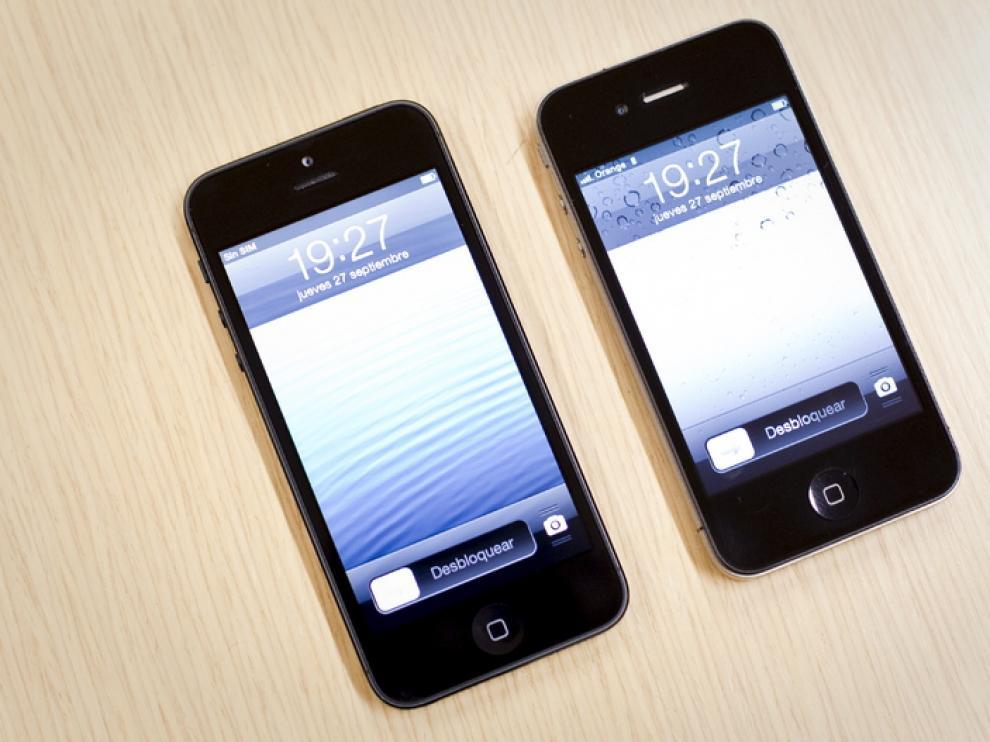 El iPhone 5 comparado con el 4