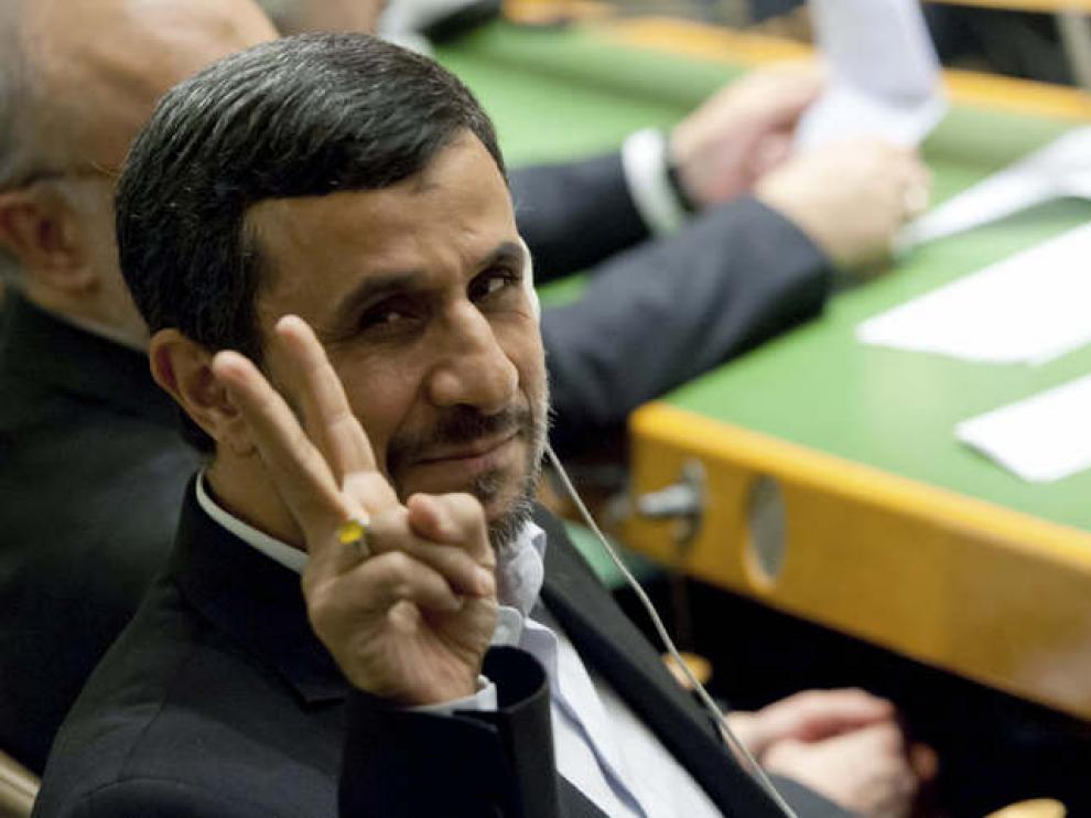 Mahmud Ahmadineyad en la ONU