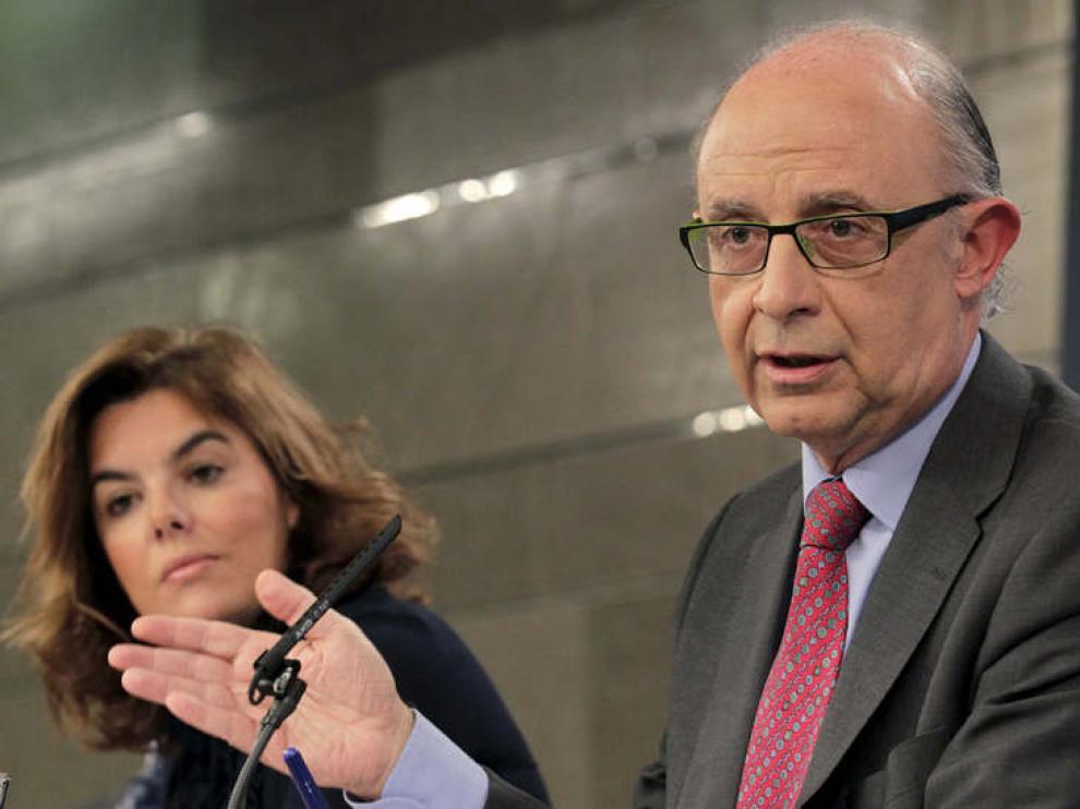 Cristobal Montoro ha asegurado que esta es la forma más corta de salir de la crisis.