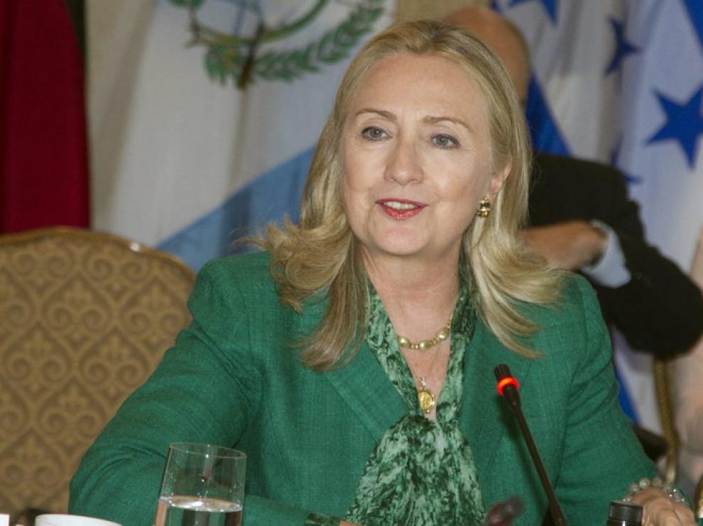 La secretaria de Estado de EE. UU., Hillary Clinton.