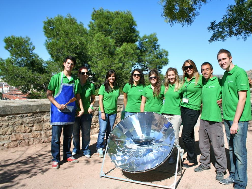 III Caravana verde de la Universidad de Zaragoza