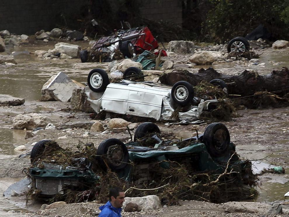 5.000 personas desalojadas en cinco municipios de Málaga