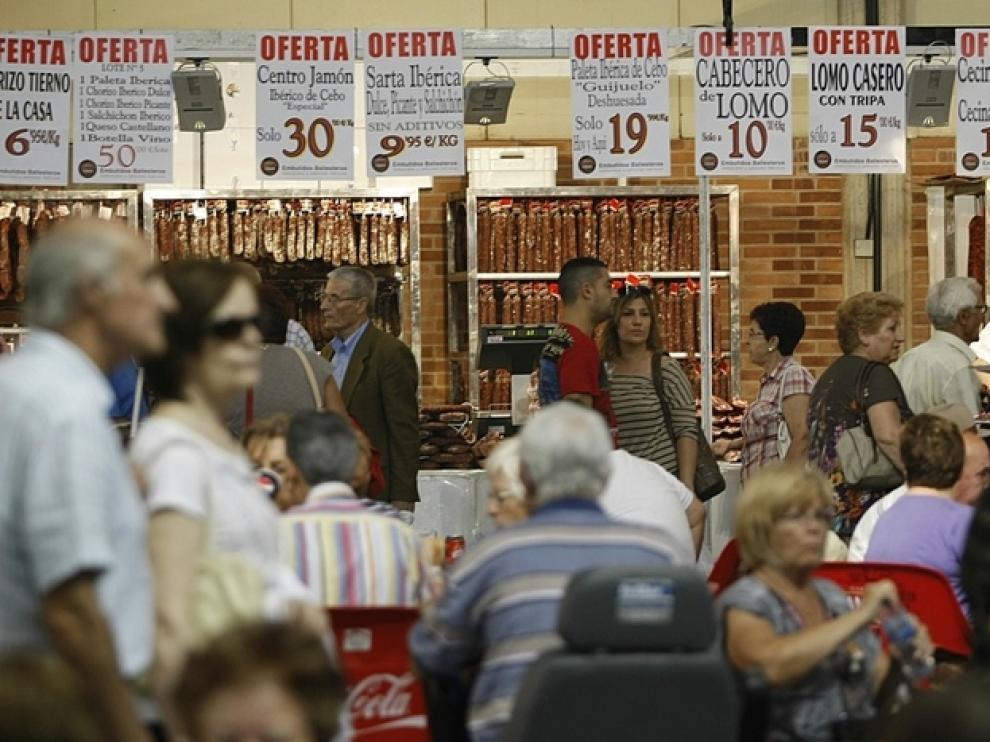 Feria de Muestras de Zaragoza en años anteriores